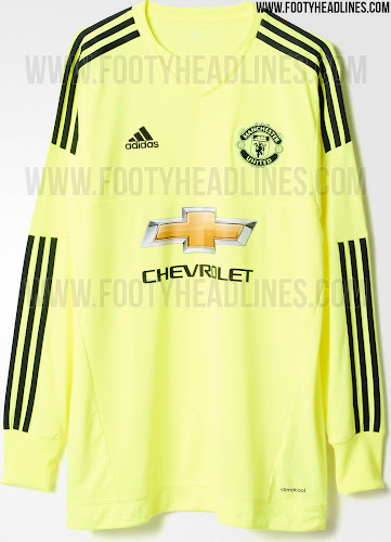 13dedd3cab3 This is the new Adidas Manchester United 15-16 Goalkeeper Away Jersey.