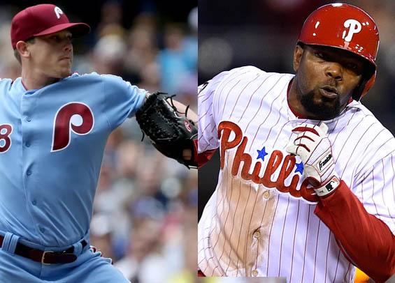 Philadelphia trades Hellickson and Kendrick