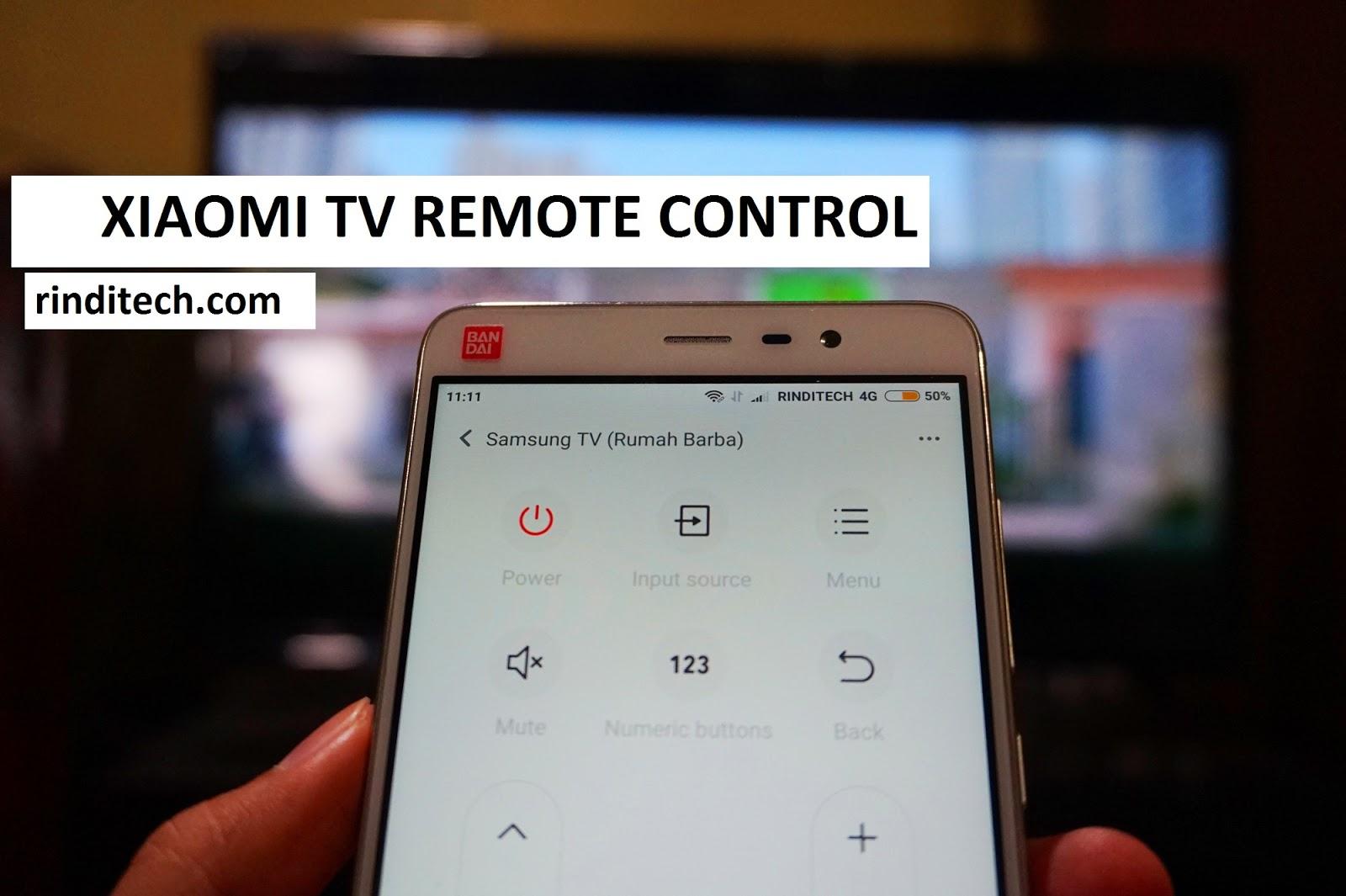How to set Xiaomi Smartphone as a Remote TV (Redmi Note 3) | ri-Techno
