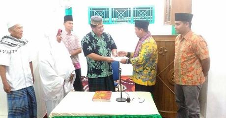 TSR DPRD Kota Padang Kembali Turun, Zulhardi Kunjungi Masjid Nurul Islam Rimbo Tarok
