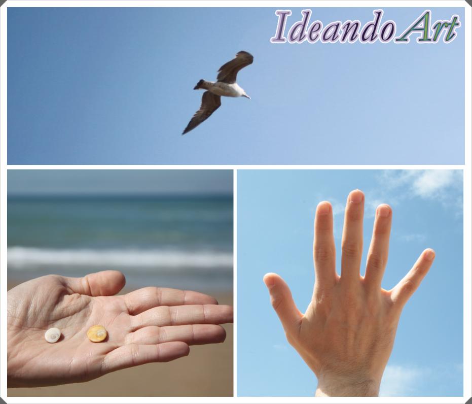 Cielo, playas y orejitas
