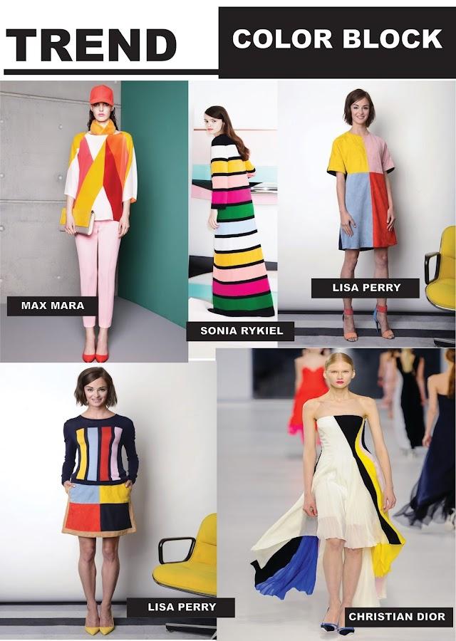 fashion vignette trend report color block. Black Bedroom Furniture Sets. Home Design Ideas