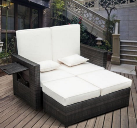 Best Garden Daybeds UK, Garden Daybeds UK, Patio Daybeds UK, Outsunny  Garden Rattan