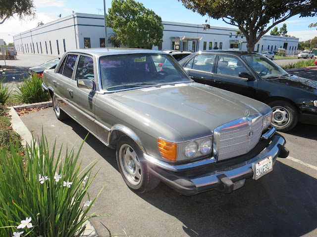 1979 Mercedes Benz after overall paint job at Almost Everything Auto Body.