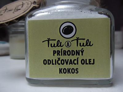 Prírodný odličovací olej Ťuli a Ťuli