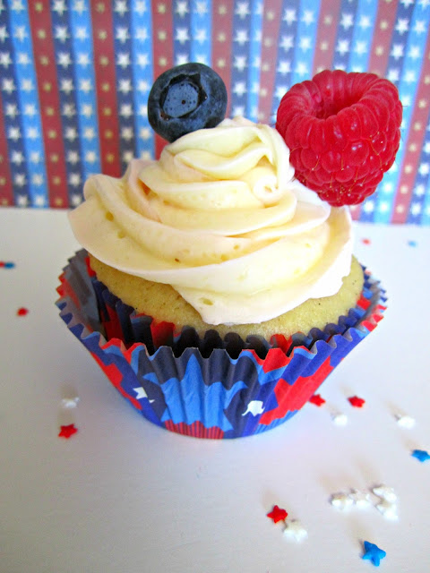 4th of July, Cupcakes, Cupcake toppers, Fizzy Party