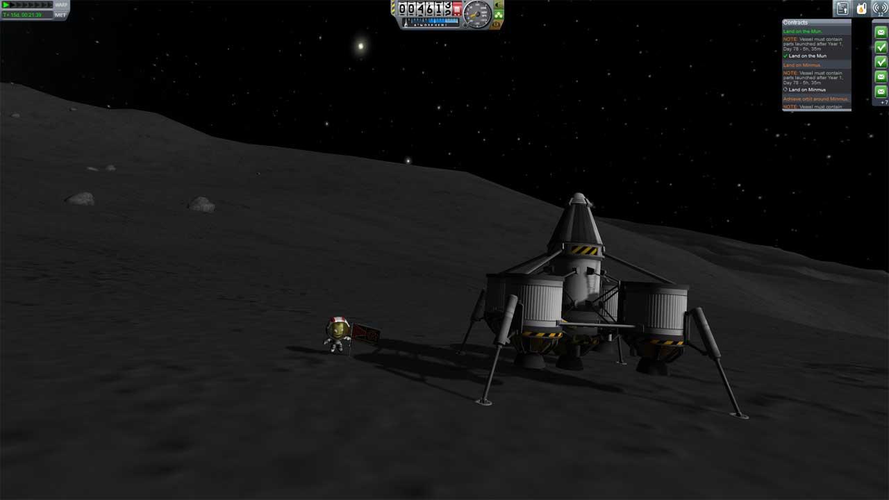 تحميل لعبة Kerbal Space Program برابط مباشر + تورنت