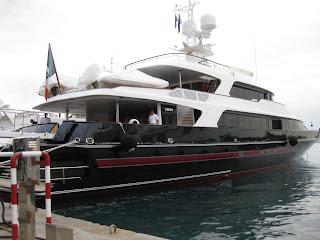 Valentino's 152-foot yacht