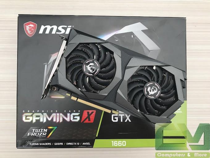 MSI GTX 1660 Gaming X Review