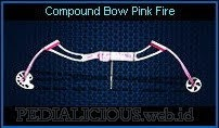 Compound Bow Pink Fire