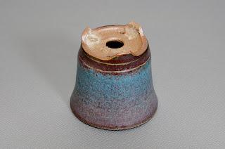 青銅マット釉丸盆栽鉢