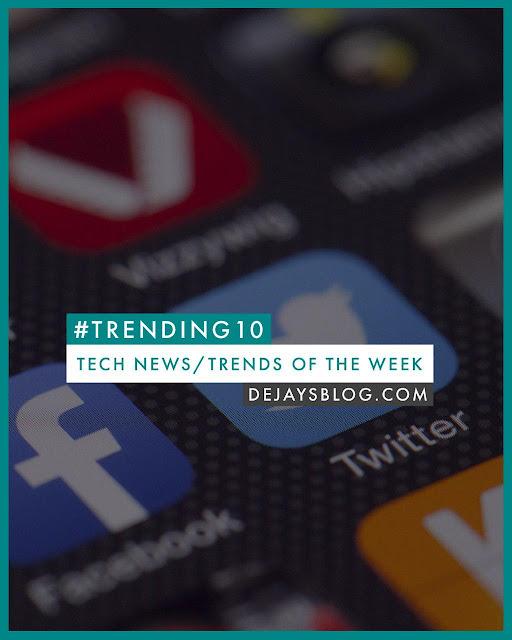 #Trending10 - Top 10 tech news / trends of the week #48 (November 2019)