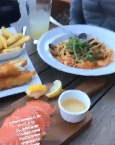 Angel Locsin was Somehow Amazed by How Huge the Serving of Food in New Zealand is!