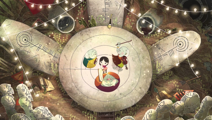 Irish animation film Song of the Sea by Tomm Moore and studio Cartoon Saloon