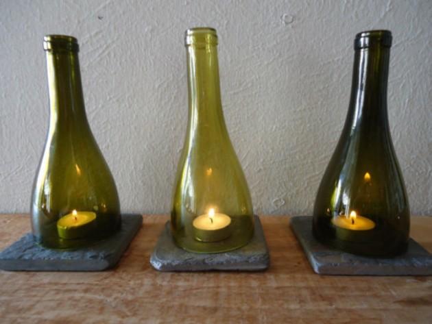 Great diy ideas to reuse old wine bottles diy fun world for Ideas for old wine bottles