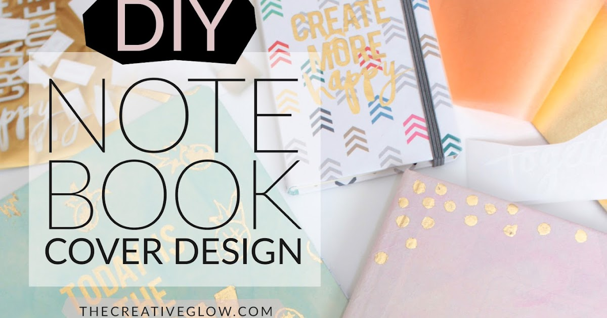 DIY Notebook Re-Design - Designer Look For Less | The ...