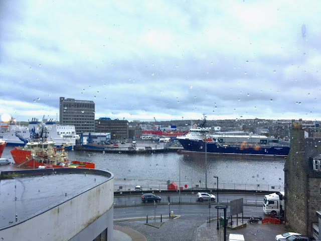 Harbour view from Maritime Museum, Aberdeen, Scotland
