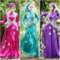 Model gaun pesta muslim yang elegan dan mewah