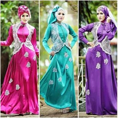 Model Gaun Muslim Mewah Untuk Wanita Modern Terbaru