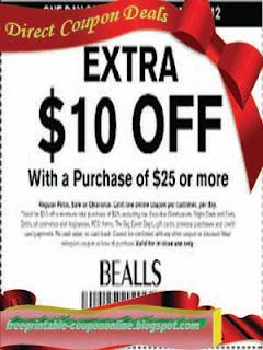 Free Printable Bealls Coupons