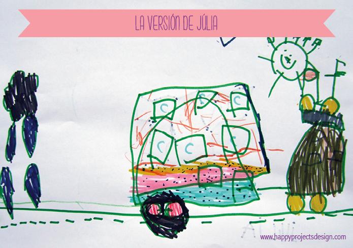 dibujo de la happy caravan