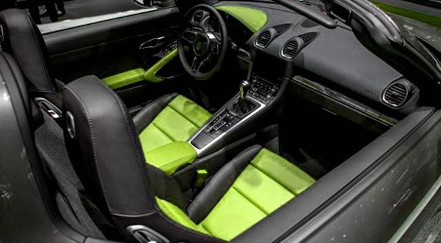 2017 Porsche Boxster Spyder