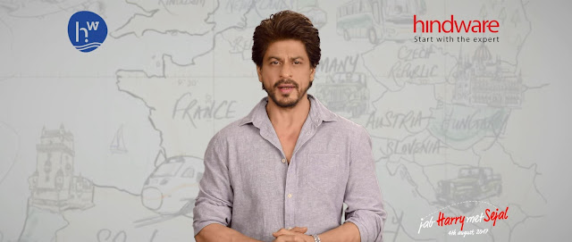 Hindware and Superstar Shah Rukh Khan redefines Expert Companionship through a Co-branded TVC with Jab Harry Met Sejal