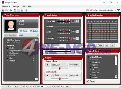 MorphVOX Pro 4.4.41 Build 23723 Deluxe Pack Full Version