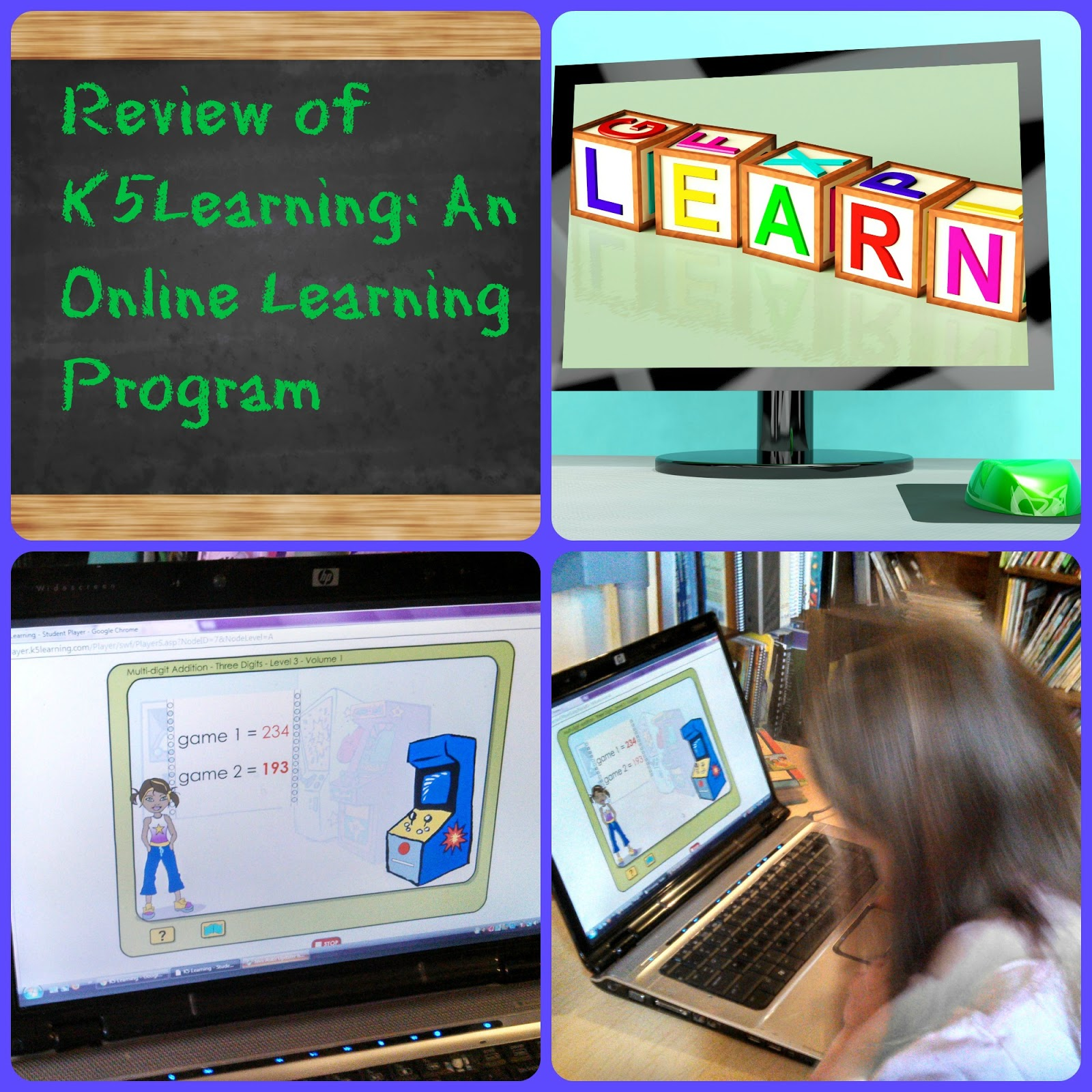 Review Of K5 Learning An Online Reading And Math Program