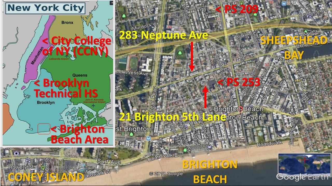 map of brighton beach brooklyn The Virtual Philosophy Club The Brooklyn Bungalow map of brighton beach brooklyn