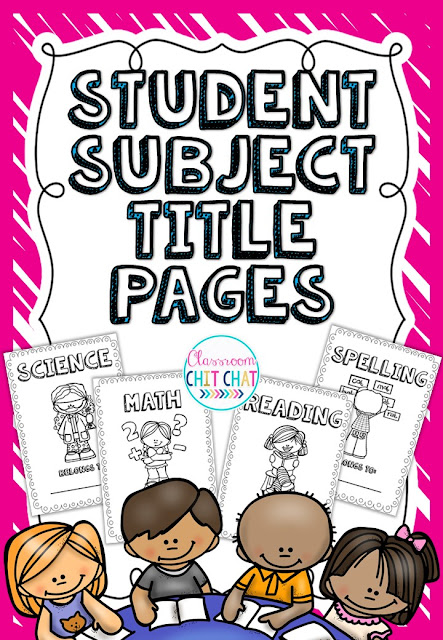 https://www.teacherspayteachers.com/Product/Student-Subject-Book-Title-Pages-Black-and-White-272118