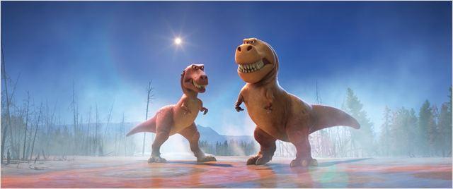 """Los T-Rex de """"El viaje de Arlo"""""""