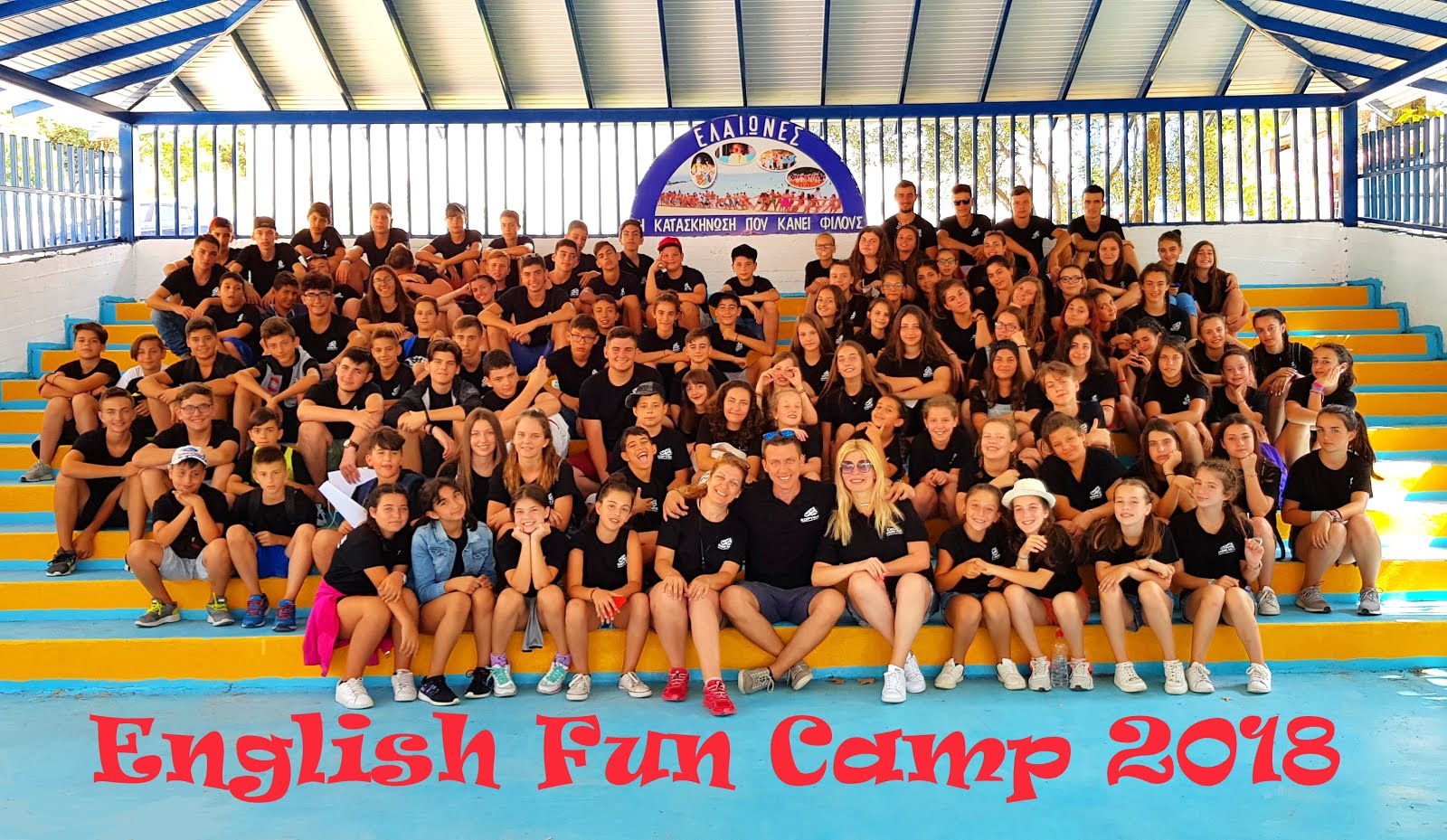 English Fun Camp 2018