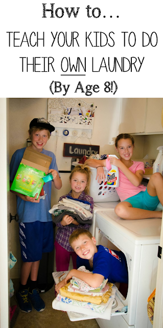 Money Hip Mamas: Kids Doing Their Own Laundry By Age 8