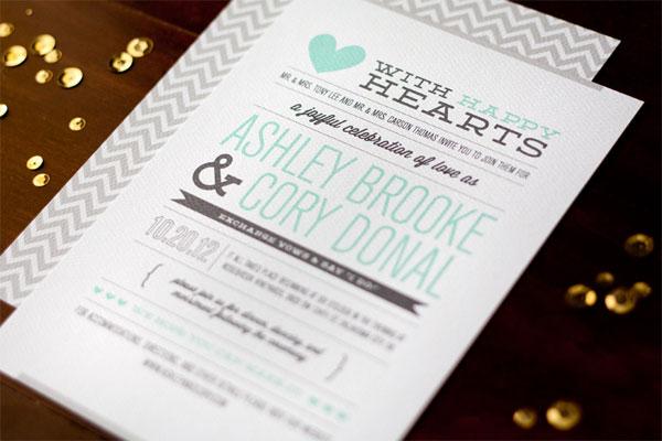 Modern Wording For Wedding Invitations: Modern Wedding Invitations: Modern Wedding Invitations