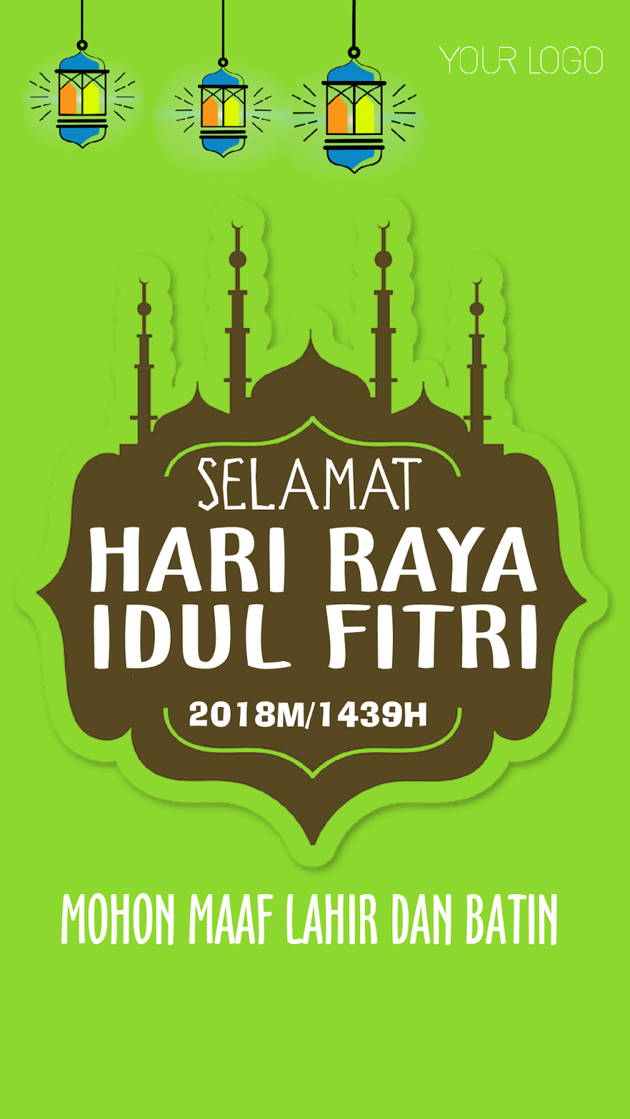 35 Ide Pamflet Idul Fitri Little Duckling Blog
