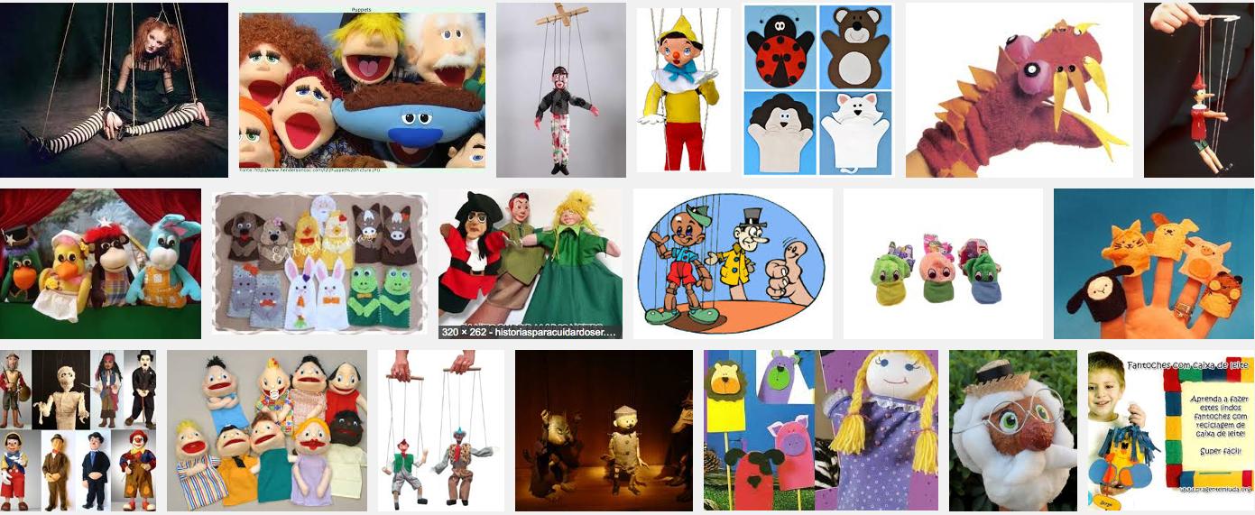 #Fantoches e Marionetes - História
