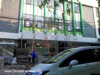 Pekerja Bangunan Di Indonesia