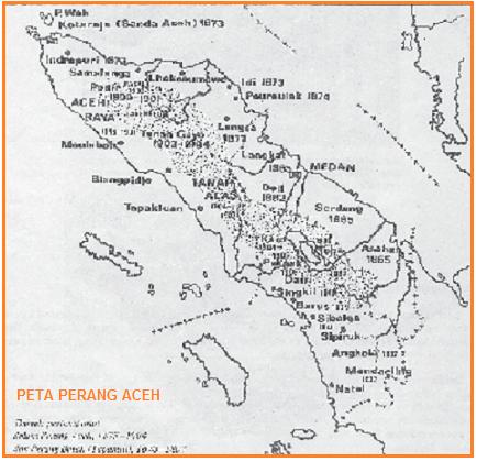 Peta perang aceh