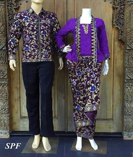 model baju batik atasan masa kini