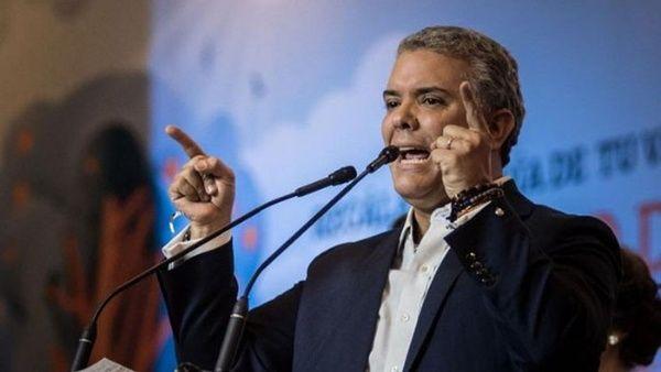 Duque insiste a Cuba para que entregue a negociadores del ELN