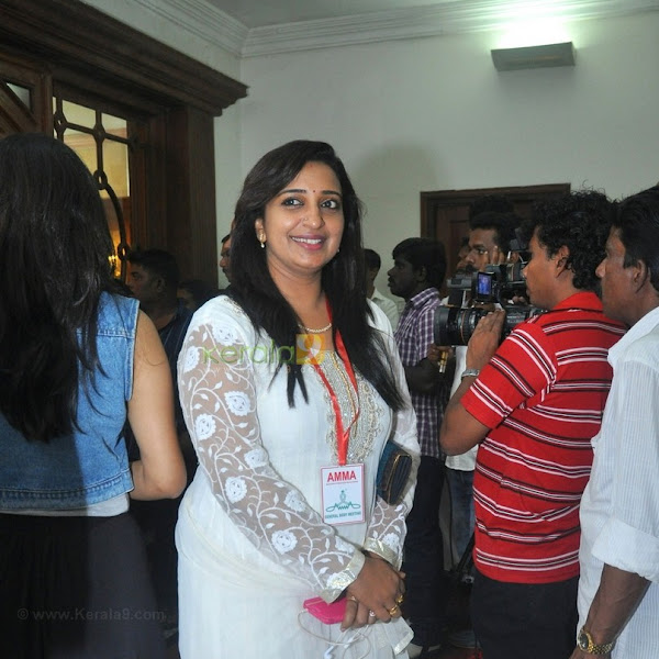 Sona Nair latest hot photos from AMMA General Body Meeting 2015