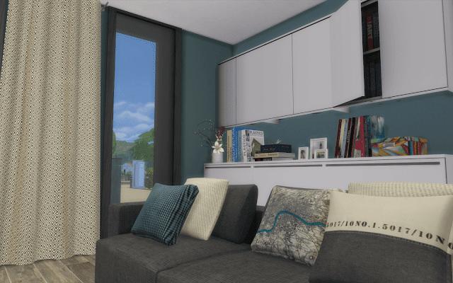 living design Sims 4