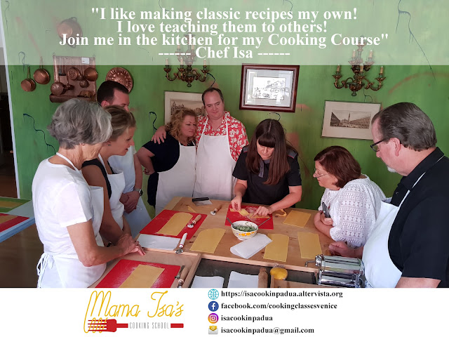 cooking classes in Italy; cooking classes in Venice; Mama Isa; Mama Isa's Cooking School;