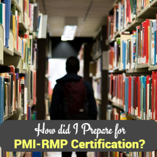 Get ready for PMI-RMP Certification