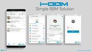 BBM Mod Tema Iphone V2.11.0.16 Apk IBBM