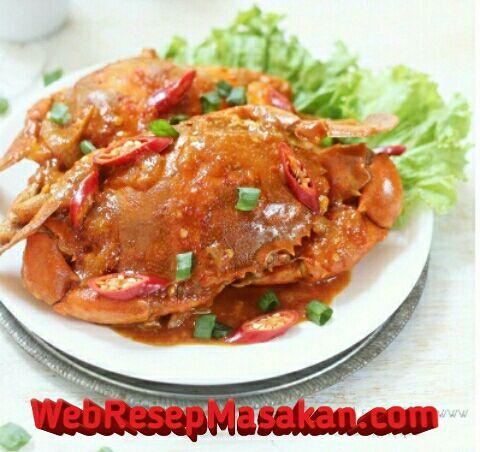 kepiting saus padang, resep kepiting saus padang pedas,