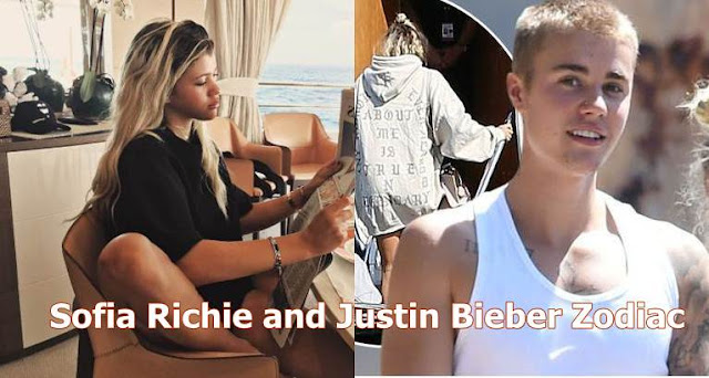 Sofia Richie and Justin Bieber love horoscope-forecast