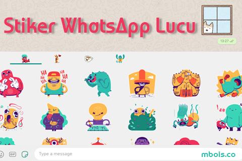 Membuat dan Memunculkan Stiker di WhatsApp (NEW)