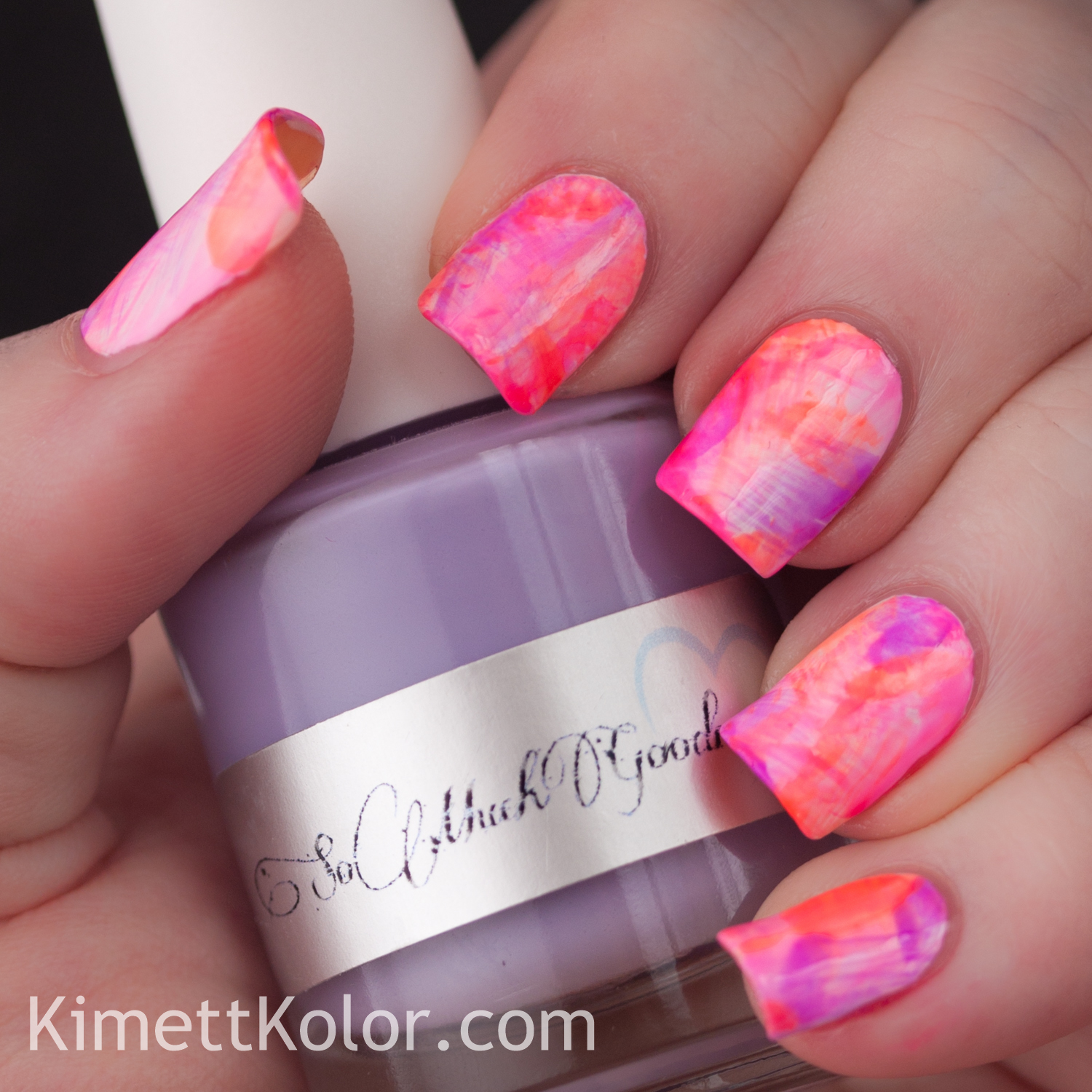 Neon Jelly Dry Brush - featuring Doctor Lacquer Kaleidoscope World ...